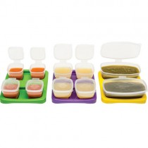 Baby Cubes Baby Food Containers, Starter Set