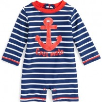 Baby Rash Guard, by Hatley - Vintage Nautical