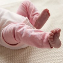 Babylegs Newborn Size, Pink Baby