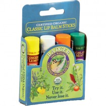 Badger Lip Balm, Classic Gift Set (4pk)