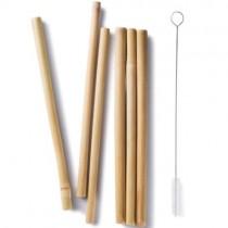 Bamboo Straws, Short (6pk)