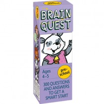 Brain Quest, Pre-School (Ages 4-5)