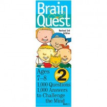Brain Quest Game Cards, Grade 2 (Ages 7-8)