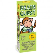 Brain Quest Book, My First (Ages 2-3)