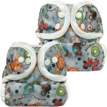 Bummis Duo-Brite Diaper Covers, Size 1 & Size 2