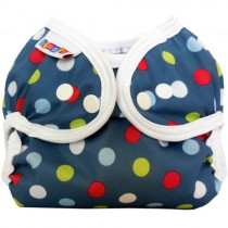 Bummis Simply Lite Diaper Cover, Denim Dot