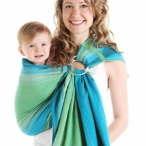 Chimparoo Woven Baby Ring Sling - Lime