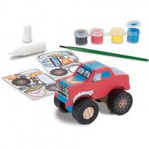 Decorate-Your-Own Monster Truck