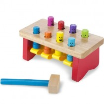 Deluxe Wooden Pounding Bench