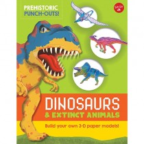 Prehistoric Punch-Outs, Dinosaurs