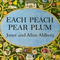 Each Peach Pear Plum, Hide-and-Seek Board Book