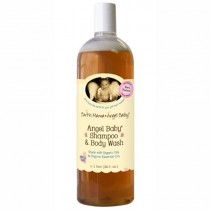 Earth Mama Angel Baby, Shampoo & Body Wash Refill