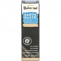 Earthpaste Natural Toothpaste, Peppermint w/ Charcoal