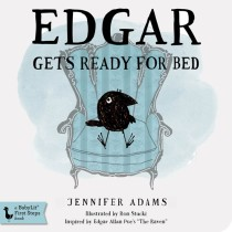 Edgar Get's Ready for Bed, BabyLit Board Book