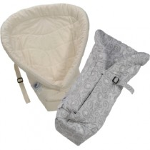 Ergo Baby Carrier Infant Inserts (Natural and Galaxy Grey)