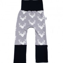 Evolve Grow-With-Me Pants, Deer - Black