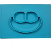Ezpz Silicone Happy Mat, Blue