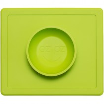 Ezpz Silicone Happy Bowl, Lime
