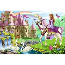 Floor Puzzle, Fairy Tale Castle