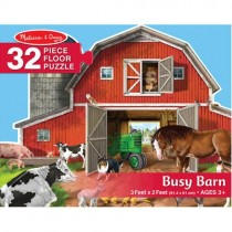Floor Puzzle, Busy Barn