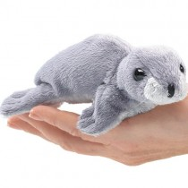 Mini Monk Seal, Finger Puppet