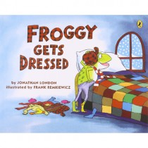Froggy Gets Dressed Book w/ CD