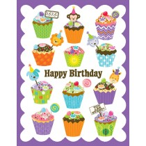 Cupcakes Birthday Greeting Card by Yellow Bird