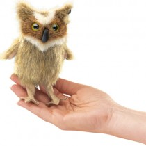 Great Horned Owl, Finger Puppet