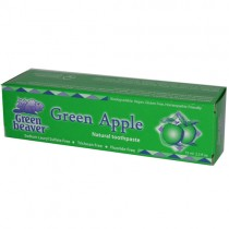 Green Beaver Natural Toothpaste, Green Apple