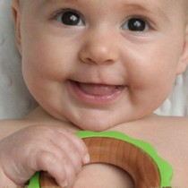 Green Ring Teether
