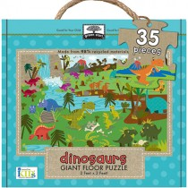 Giant Floor Puzzle, Dinosaurs (35pc)