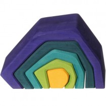 Grimm's Element Stacking Toy, Earth (Medium)