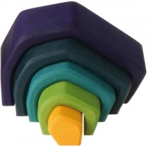 Grimm's Element Stacking Toy, Earth (Small)