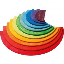 Grimm's Wooden Creative Toy, Semicircles