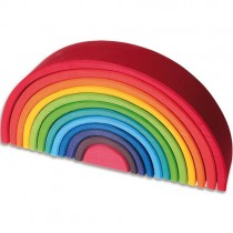 Grimm's Rainbow Wooden Stacking Toy, Large