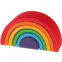 Grimm's Rainbow Wooden Stacking Toy