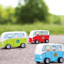 Mini Rolling Toys, Groovy Love Bus