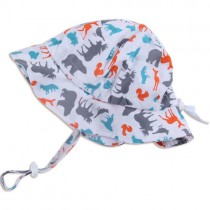 Adjustable Sun Protection Hats (SPF) - Woodland White