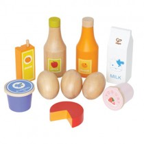 Healthy Basics Wooden Play Food Set
