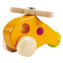 Little Copter Wooden Toy Helicopter