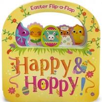 Happy & Hoppy Easter, Lift-a-Flap Board Book