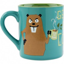 Hatley Get Your Own Dam Coffee Mug