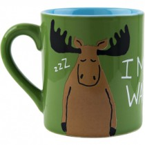 Hatley I Moose Wake Up Mug