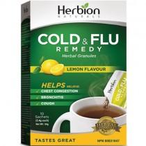 Herbion Cold & Flu Remedy, Lemon