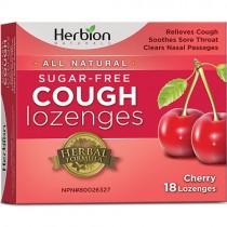 Herbion Cough Lozenges, Sugar Free Cherry
