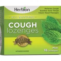 Herbion Cough Lozenges, Mint