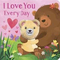I Love You Every Day, Finger Puppet Book