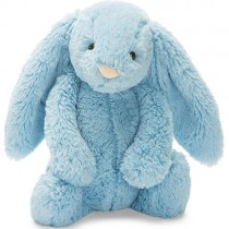 Jellycat Bashful Bunny Aqua, Medium