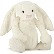 Jellycat Bashful Bunny Cream, Huge