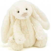Jellycat Bashful Bunny Cream, Medium